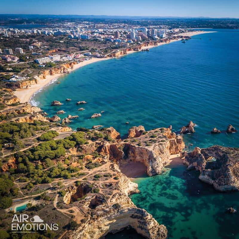 scenic flight algarve