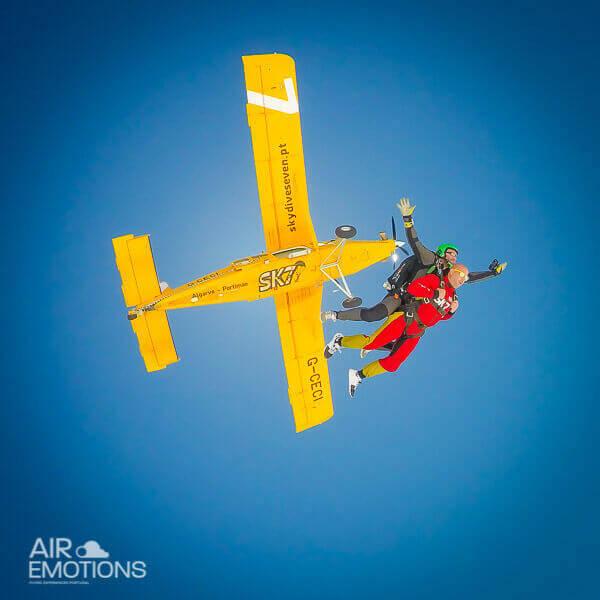 skydive algarve tandem jump 15k