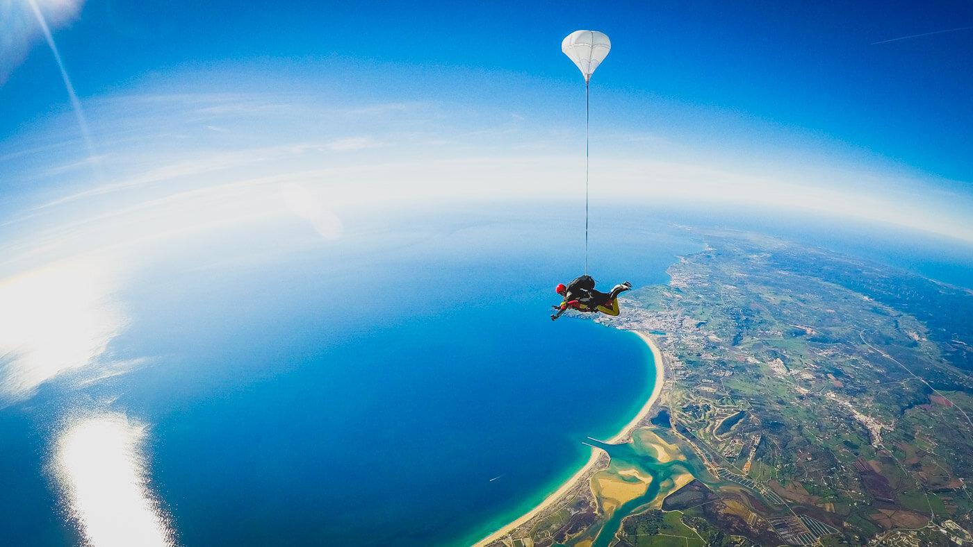 Skydive Lisbon Tandem Skydiving Algarve Experience