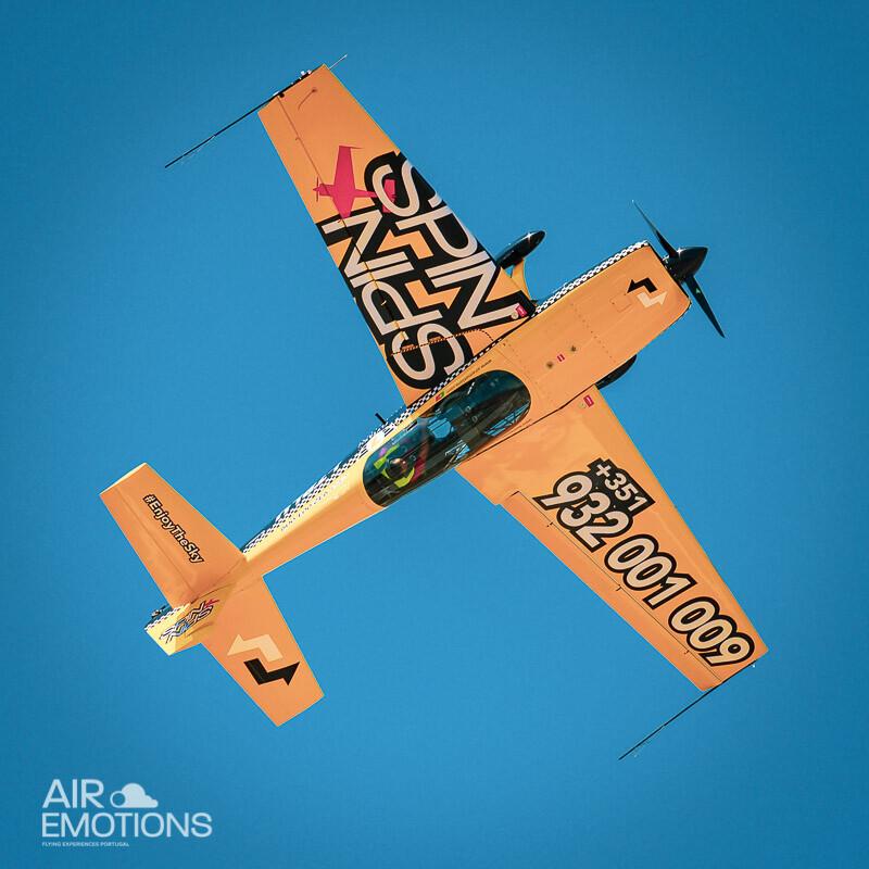 Aerobatic Flight Experience Portugal Extra 330 Plane