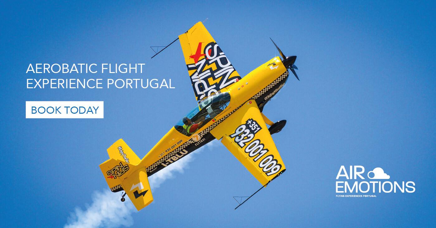 Air Emotions Algarve Aerobatic Flight Extra 330